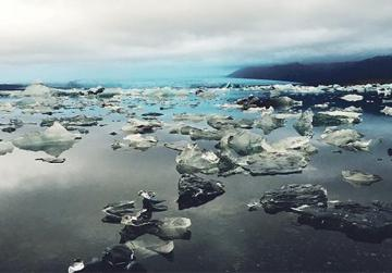 Jokulsarlon is the deepest lake in Iceland and one of the country's prominent natural wonders.