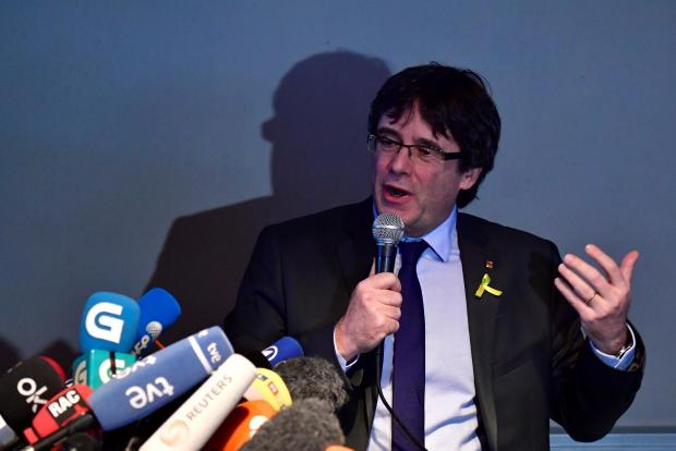 Carles Puigdemont. AFP file photo
