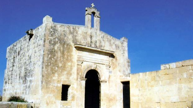 A wayside chapel, a relic of the Maltese Christian traditions.