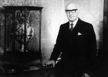Malta's first President: Sir Anthony Mamo.