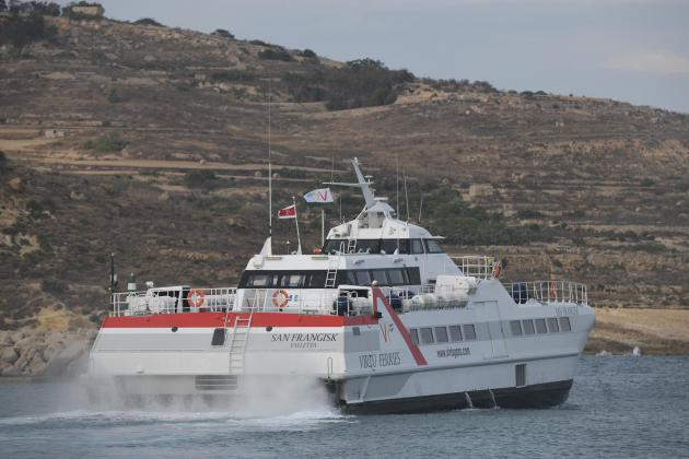 Strong winds force Virtu Ferries to cancel Gozo trips