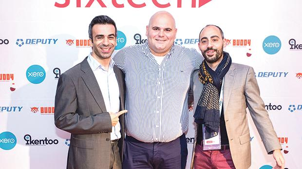 At the launch of Buddy, (from left) Dimitris Litsikakis, Revolut country manager (Cyprus, Greece and Malta), David Seisun, Buddy CEO, and Philippe Maurice Mifsud, Revolut country ambassador (Malta).