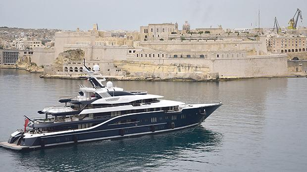 'Superyachts should be a conduit into other positive investments'. Photo: Mark Zammit Cordina