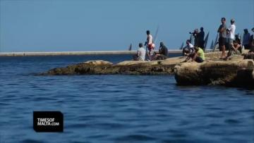 Watch: Fine weather accompanies start of Middle Sea Race