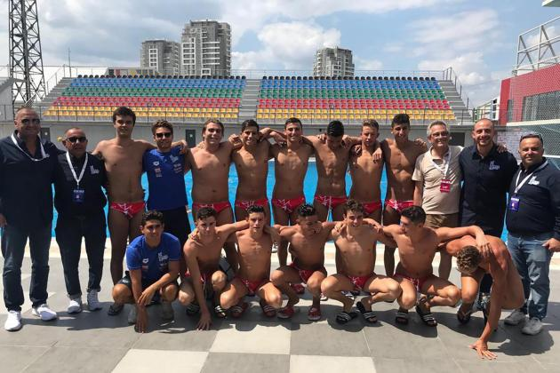 Malta U-17 waterpolo team clinch historic win over Turkey