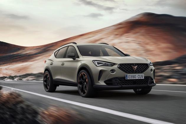 Five-cylinder Formentor arrives as Cupra celebrates third anniversary