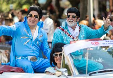 All shook up: Elvis keeps Aussie outback town alive