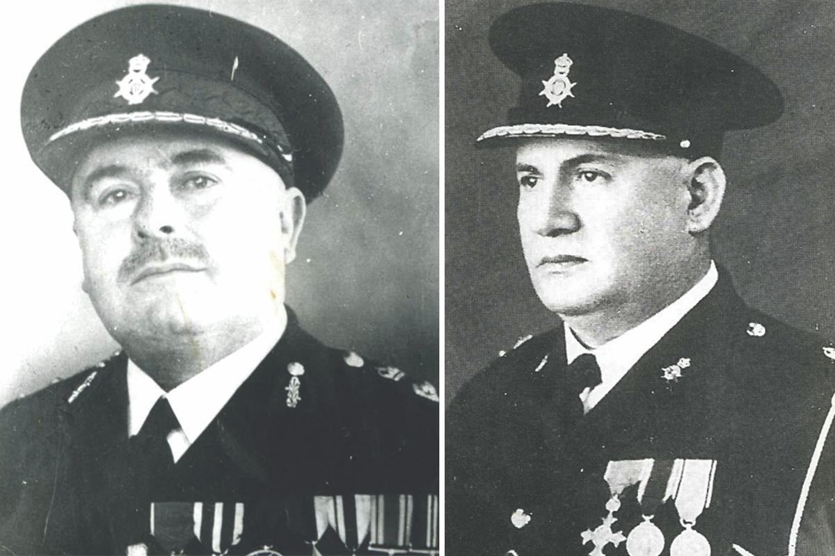 Joseph Axisa. Right: Salvatore Galea.