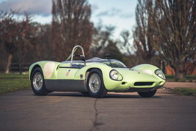 Race-winning Lotus driven by Jim Clark up for auction