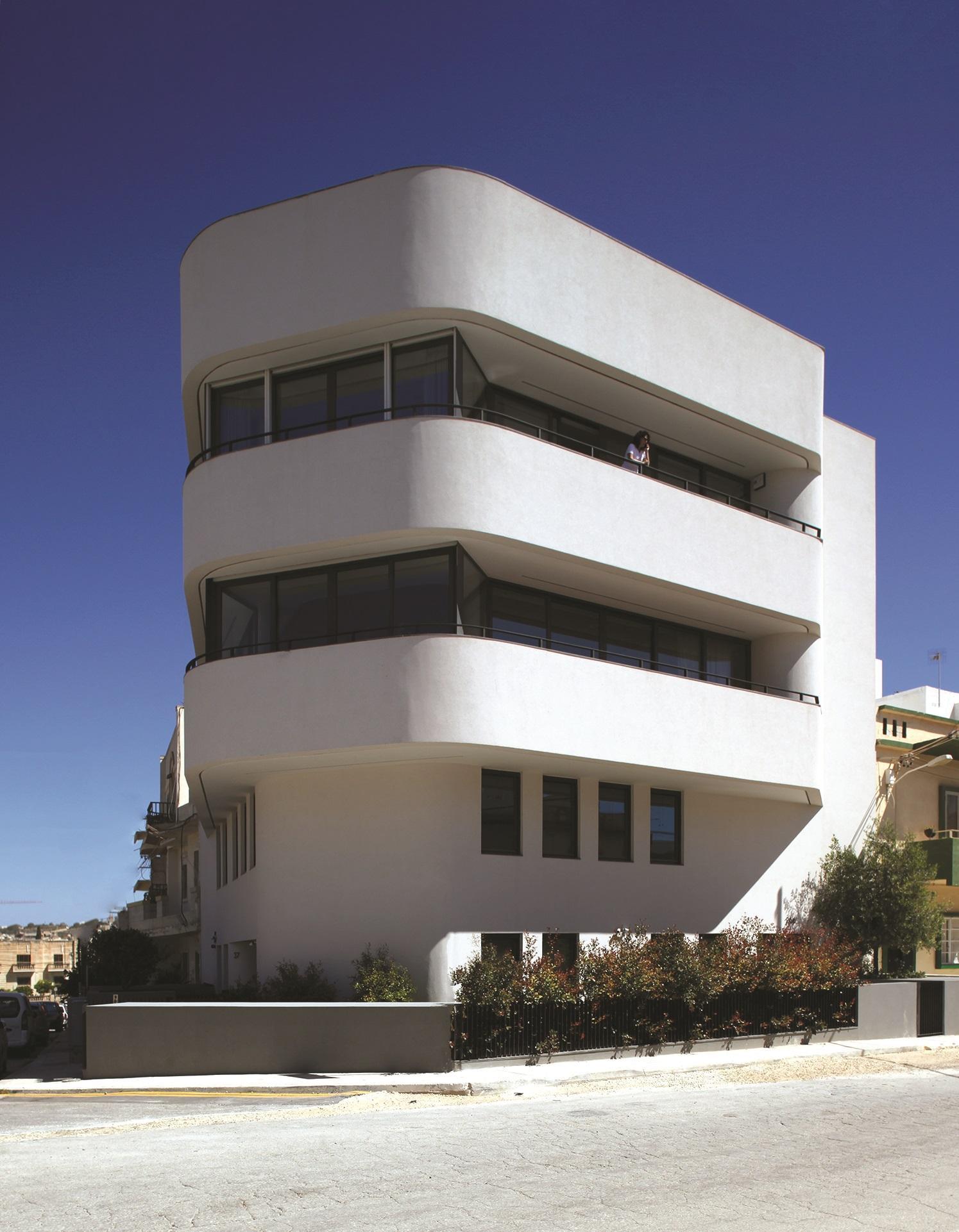 Threeplusone, Balzan: a low-rise apartment block designed to respond to surrounding context and orientation. Photo: Julian Vassallo