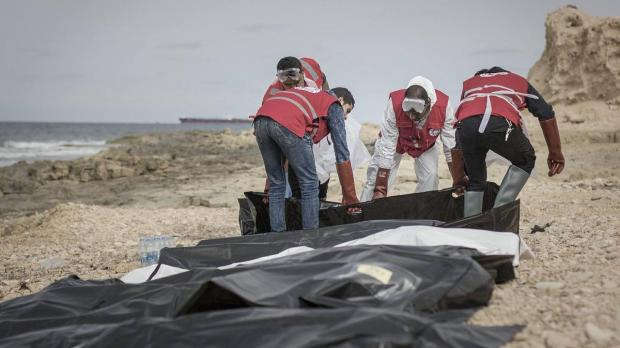 Aid workers: Bodies of 74 migrants wash ashore in Libya