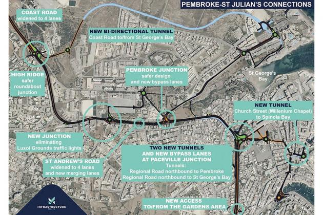 Paceville tunnel plans remain buried away from public view