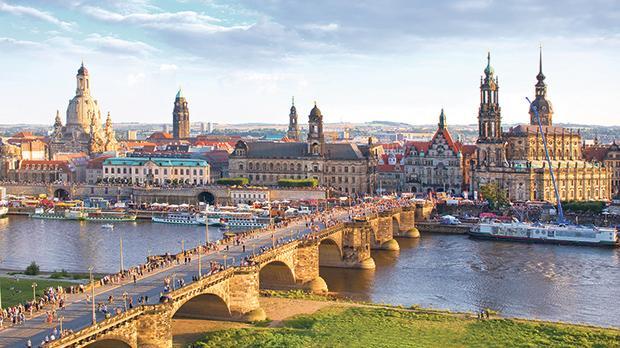 Dresden – Old Town skyline. Photo: Sylvio Dittrich
