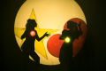 Shadow puppetry show on this weekend
