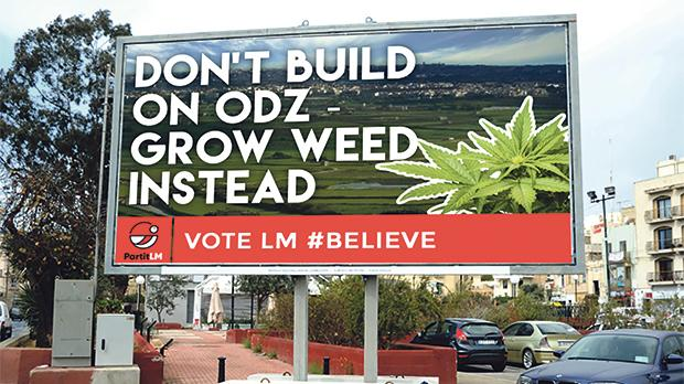 Lovin Malta is hoping to run a crowdfunding campaign to erect billboards showcasing their most popular proposals, as voted for by the public.