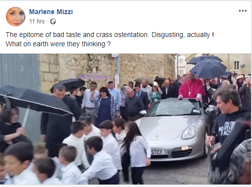 Labour MEP Marlene Mizzi expressed her views on the matter in a harshly worded Facebook post.