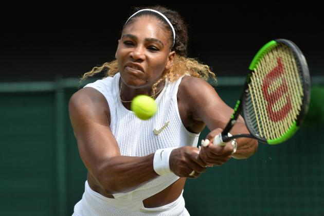 Serena to face Halep in Wimbledon final with record Slam haul in view