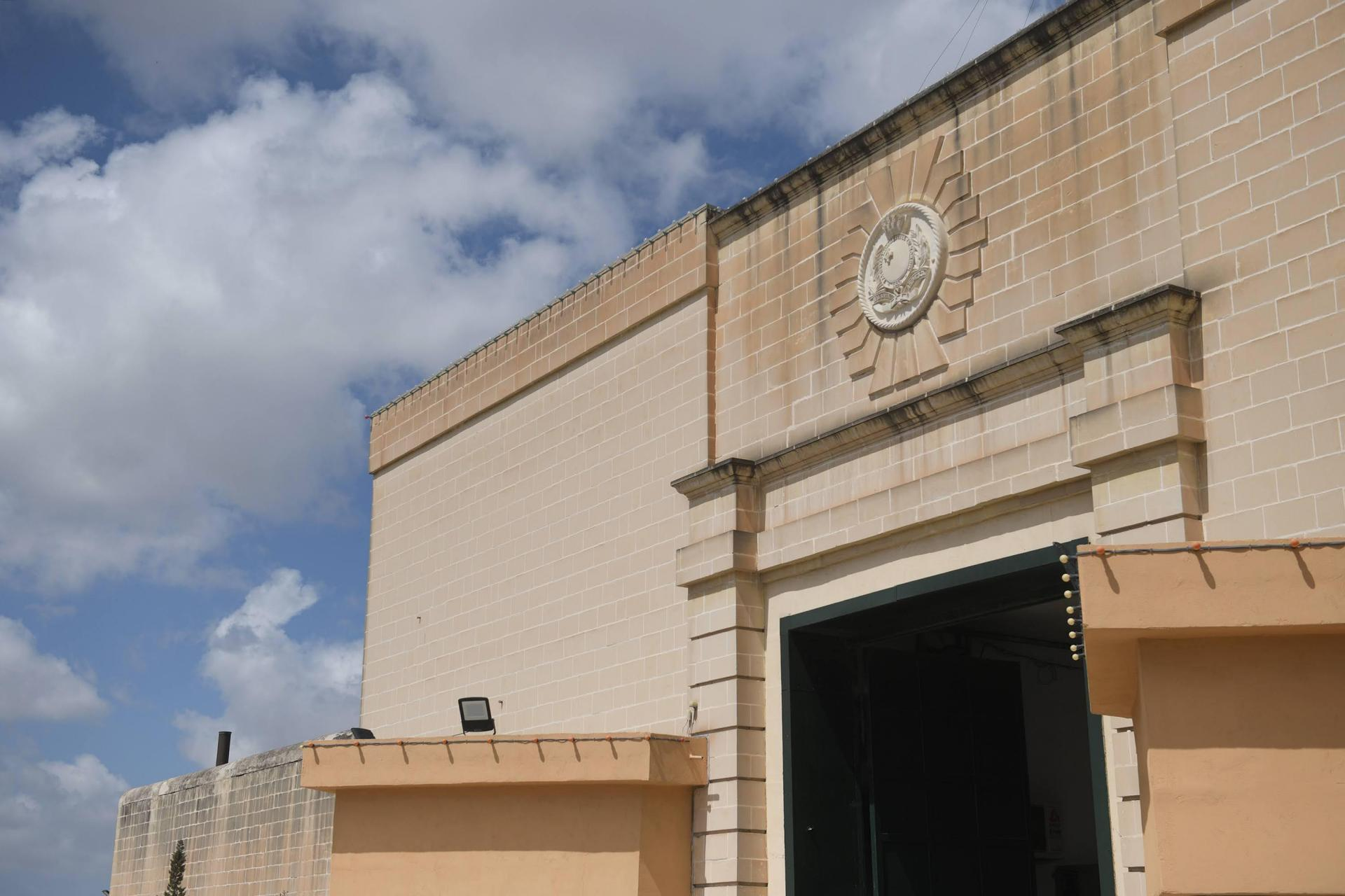 The entrance to Corradino Correctional Facility. Photo: Matthew Mirabelli