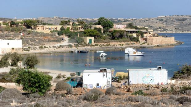 The bungalow complex at Santa Marija Bay, together with the Comino Hotel, were both mistakenly listed for sale.