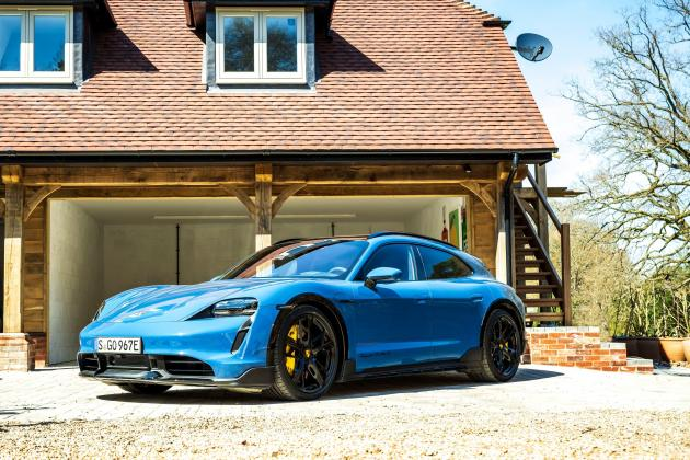 The Porsche Taycan Cross Turismo brings practicality to ballistic performance