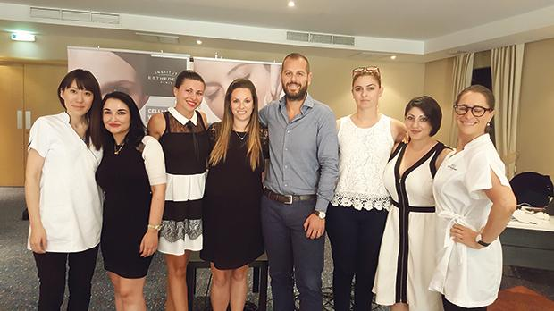The Esthederm Malta team