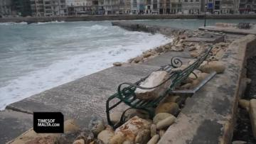 'Worst storm since 1982' saw record gusts of 133km/h - Muscat | After the storm. Video: Jonathan Borg
