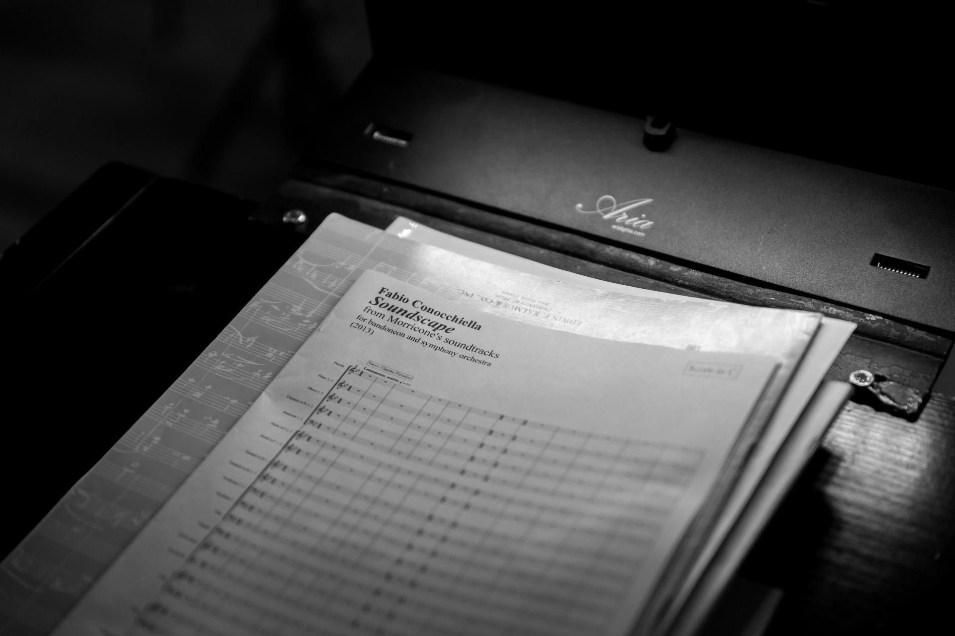 Fabio Conochiella's musical fusion of some of Morricone's film scores.