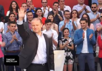 Muscat charts the way ahead in Labour's Workers' Day mass meeting