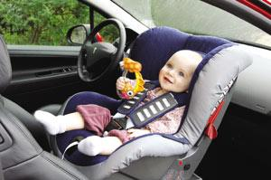 The new Peugeot 207 - four stars for child protection in the EuroNCAP test