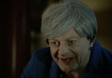 Watch: Gollum returns as Theresa May