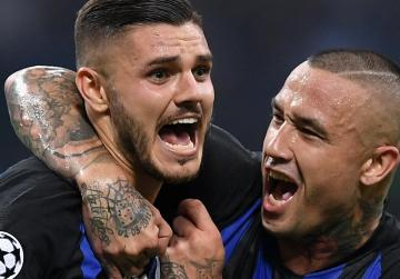 Watch: Inter strike two late goals to sink Tottenham
