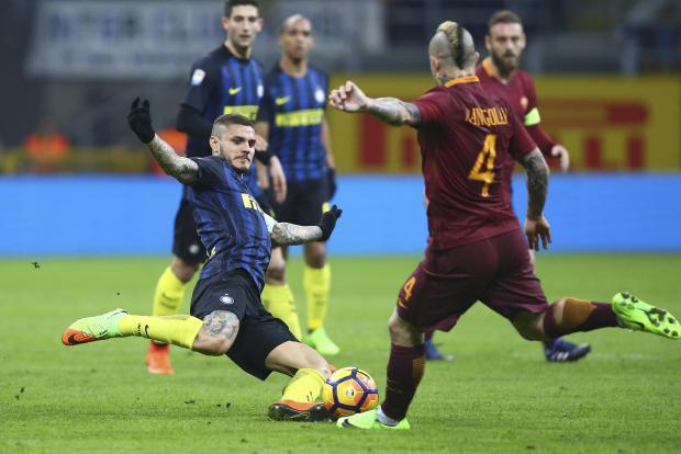 Pertarungan Sengit Inter Vs Roma