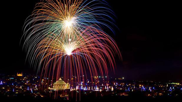 Santa Maria fireworks. Photo: Joe Muscat