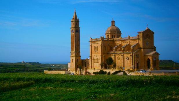 Ta' Pinu church in Gozo. Photo: Megan Mallia