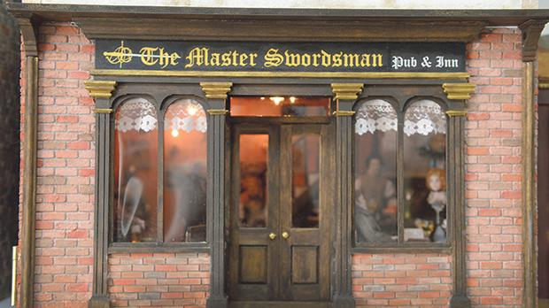 The Master Swordsman Pub and Inn is a tribute to Daniel Sammut.
