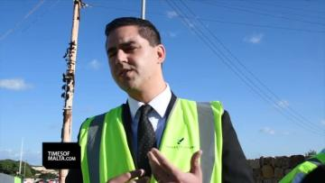 Watch: Tal-Balal road works might spill to 2019
