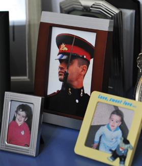 Family photos of Matthew Psaila.