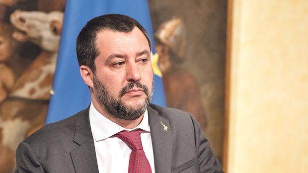 Italian Deputy Prime Minister Matteo Salvini has mastered the use of social media. Photo: AFP