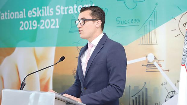 Silvio Schembri: 'Digital and communication technologies have dramatically changed every aspect of life. For our country to thrive we need to furnish tomorrow's generations with the right skills and training.'