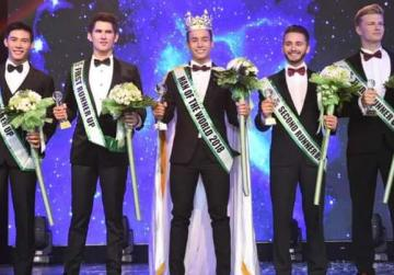 Local student places third in Man of the World pageant