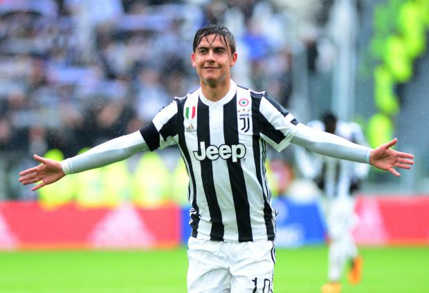Paulo Dybala steered Juventus to the top of the Serie A.