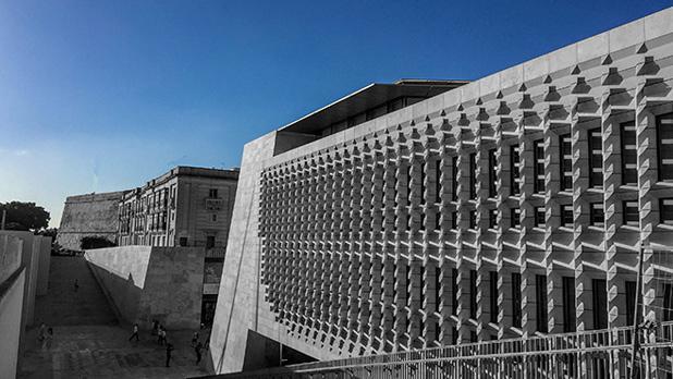 New Parlament House. Photo: Adrian Farrugia