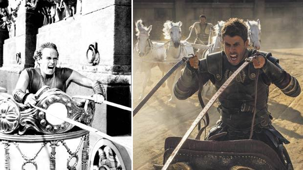 New Ben-Hur 2016 Intense Chariot Race Movie Clip Released