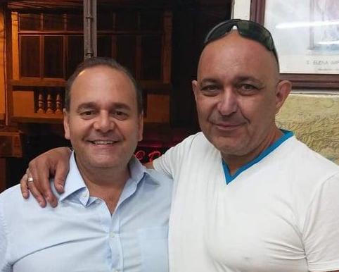 Chris Cardona and Tony Chetcuti, aka, Toni il-Biglee, who is alleged to have paid alleged murder hitmen Degiorgio €350,000 on behalf of Cardona.