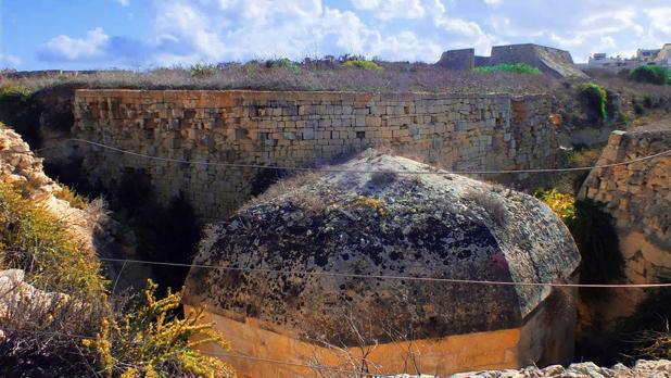The Della Grazie Battery in Xgħajra. Photo: Choy Hong (Jasmine) Grech