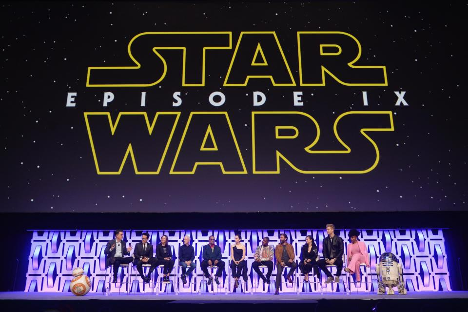 'The Rise of Skywalker' panel at the Star Wars Celebration at McCormick Place Convention Centre on April 12, 2019 in Chicago. Photo: Daniel Boczarski/Getty Images North America/Getty Images via AFP