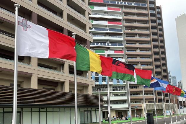 Team Malta settling down in Tokyo Olympic Village