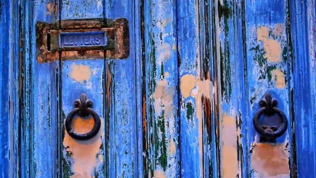 A door in Valletta. Photo: Charles Portelli