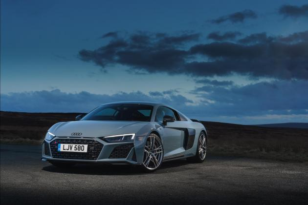 Updated Audi R8 V10 Performance amplifies style and power