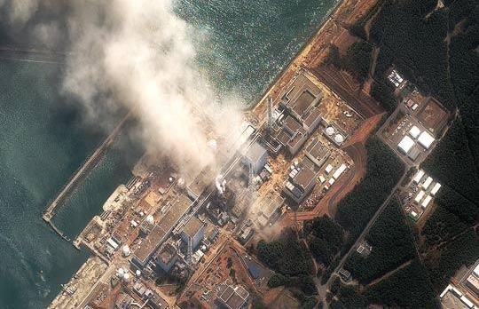 A handout image of Fukushima Daiichi nuclear plant located in the town of Okuma, Japan. Photo: AFP